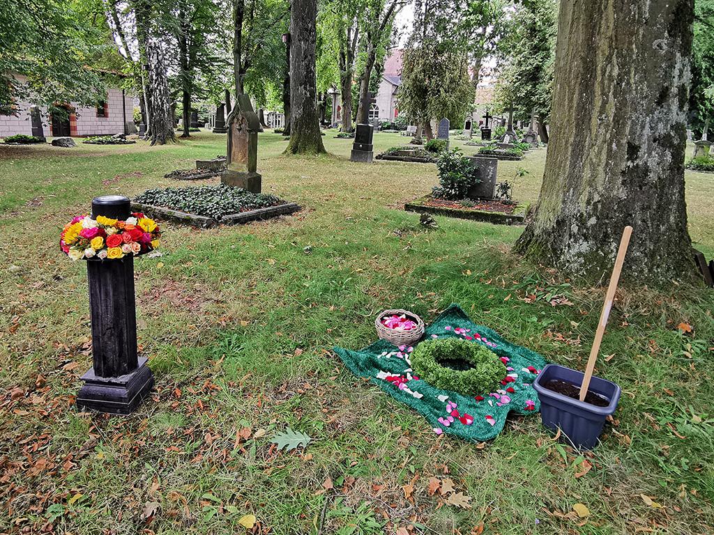 Trauerfeier Baumbestattung